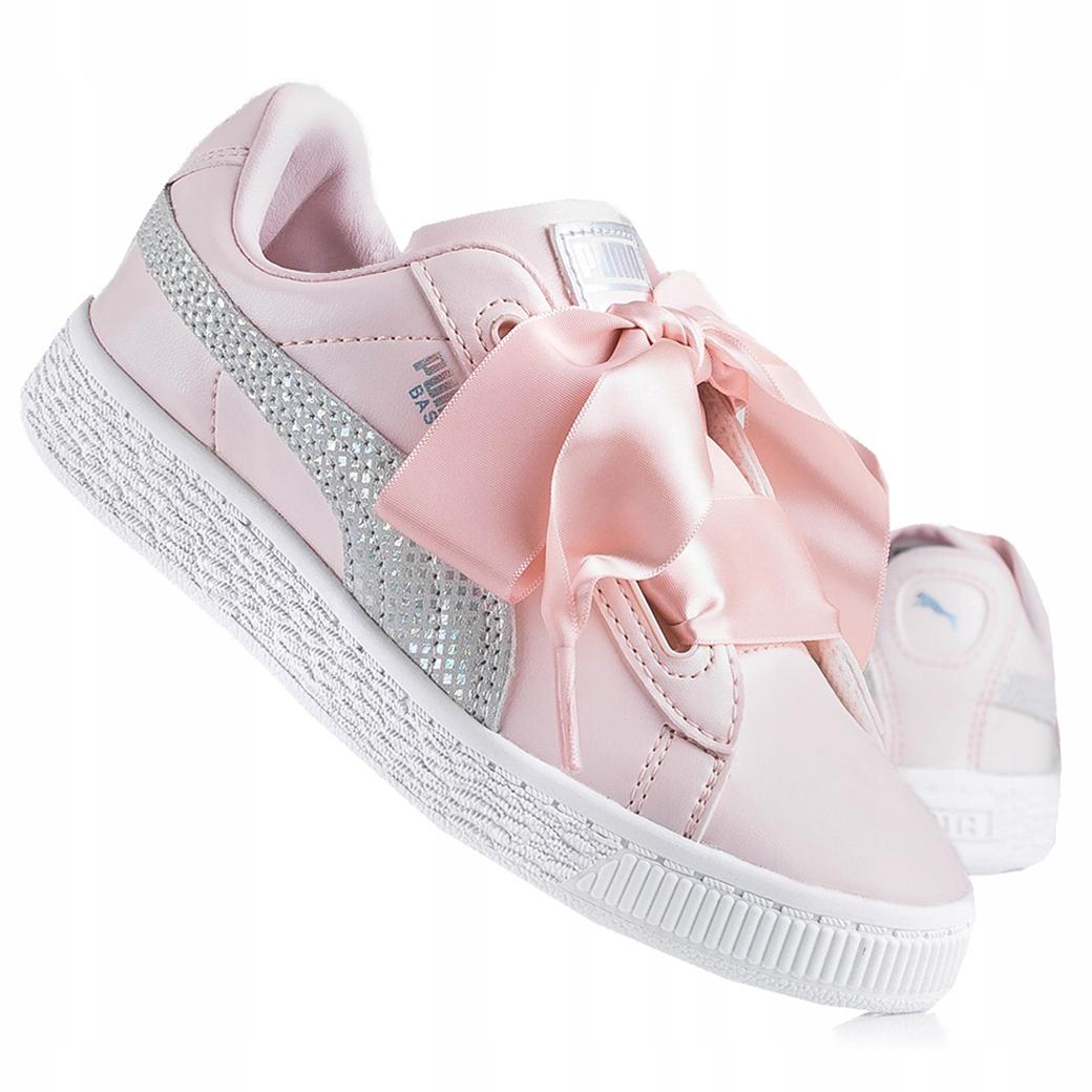 Buty dziecięce Puma Basket Heart 369857 02
