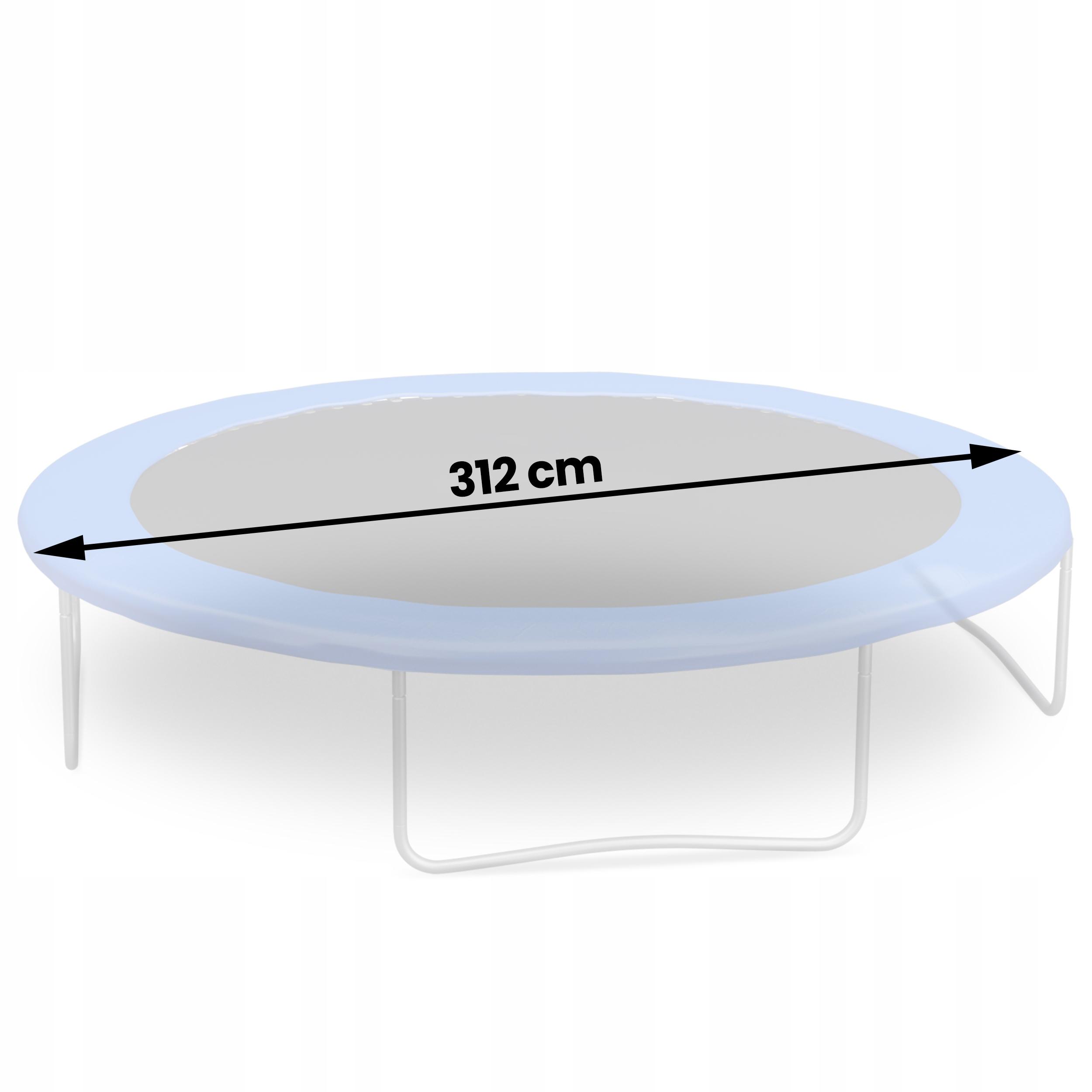Mata do trampoliny batut 305 312cm 10ft 54 sprężyn Bohater brak