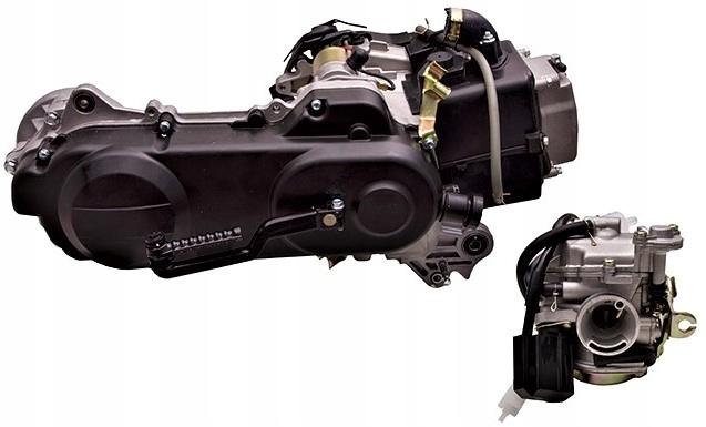 Двигатель к skutera moretti 50cm 4t barton romet, фото 1