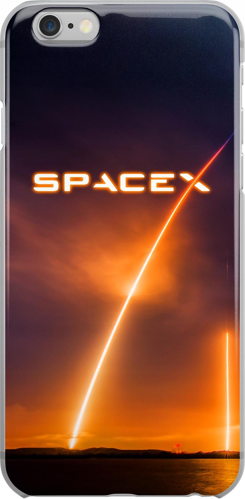 Etui Wzory SpaceX Huawei P20