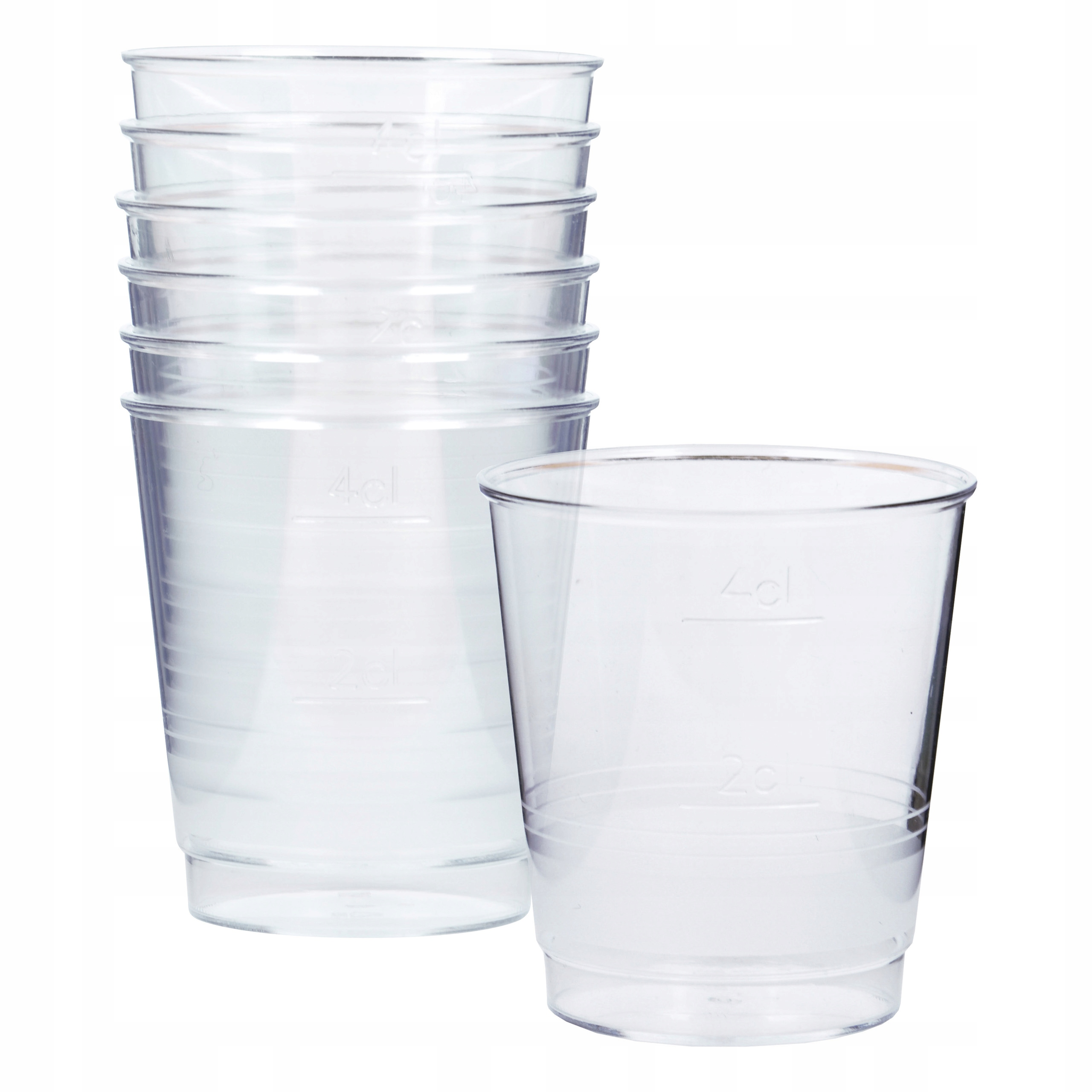 Item Plastic glasses for wine, 6 PCs