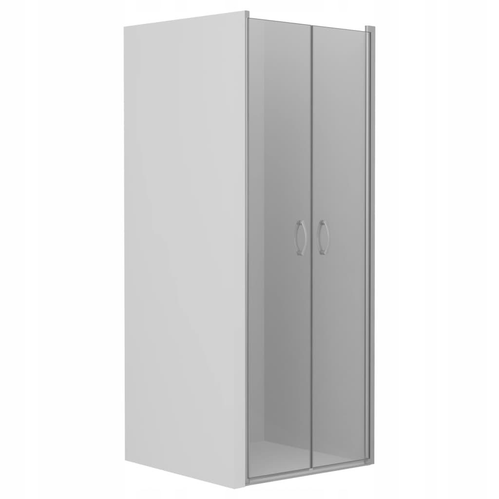 Sprchové dvere, priehľadné, ESG, 70 x 185 cm