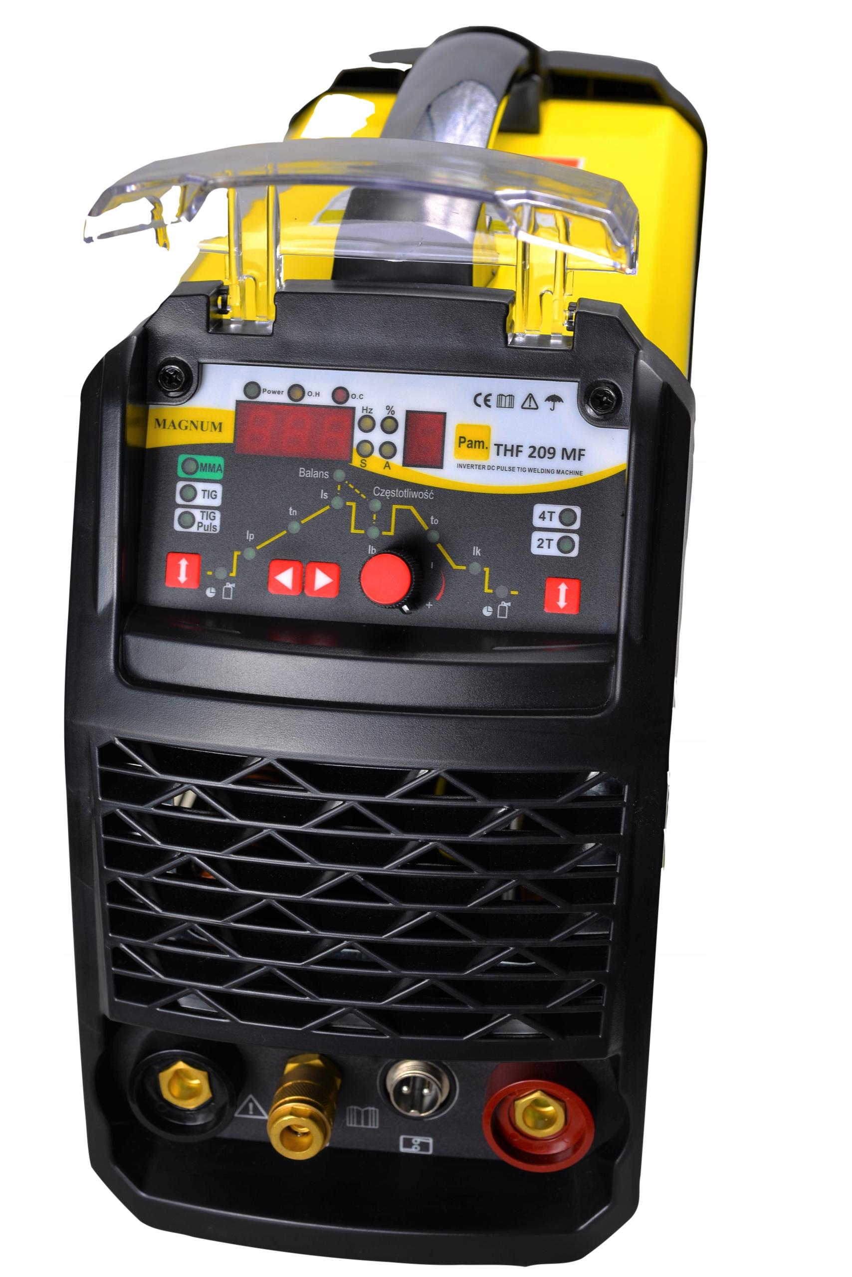 Купить Сварочный аппарат MAGNUM TIG THF 209 MF IGBT PULS 200A на Otpravka - цены и фото - доставка из Польши и стран Европы в Украину.