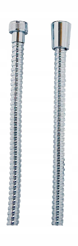 Chrómová kovová sprchová hadica 1,5m