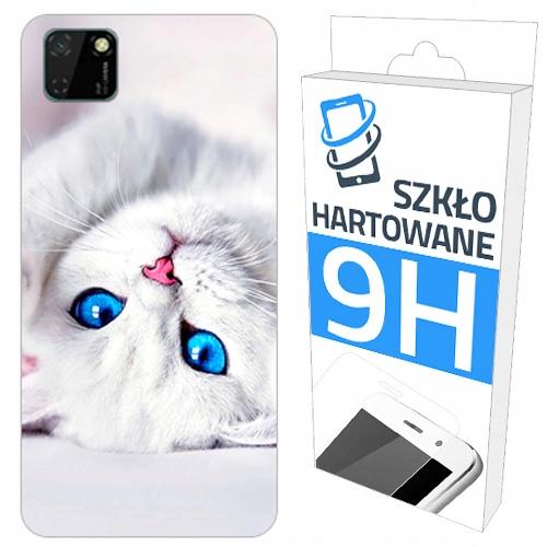 200 wzorów Etui+szkło Hartowane Do Huawei Y5P Case