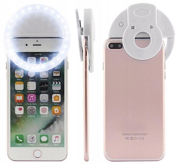 Lampa Pierścieniowa Selfie LED do Telefonu EAN 5900217317951