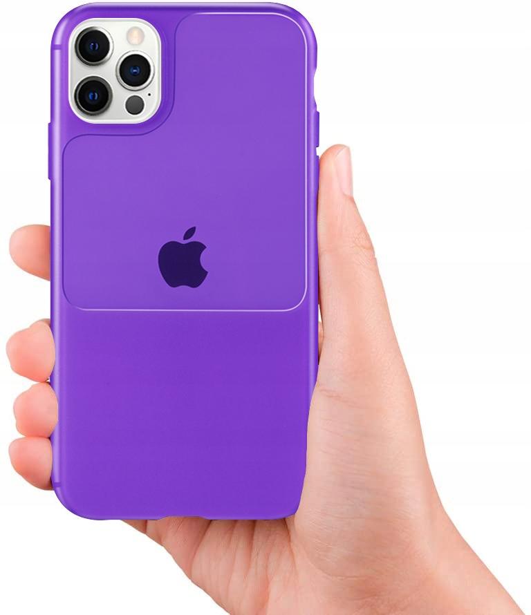 Etui do iPhone 12 Pro Case Silikon Guma + SZKŁO Dedykowany model iPhone 12 12 Pro