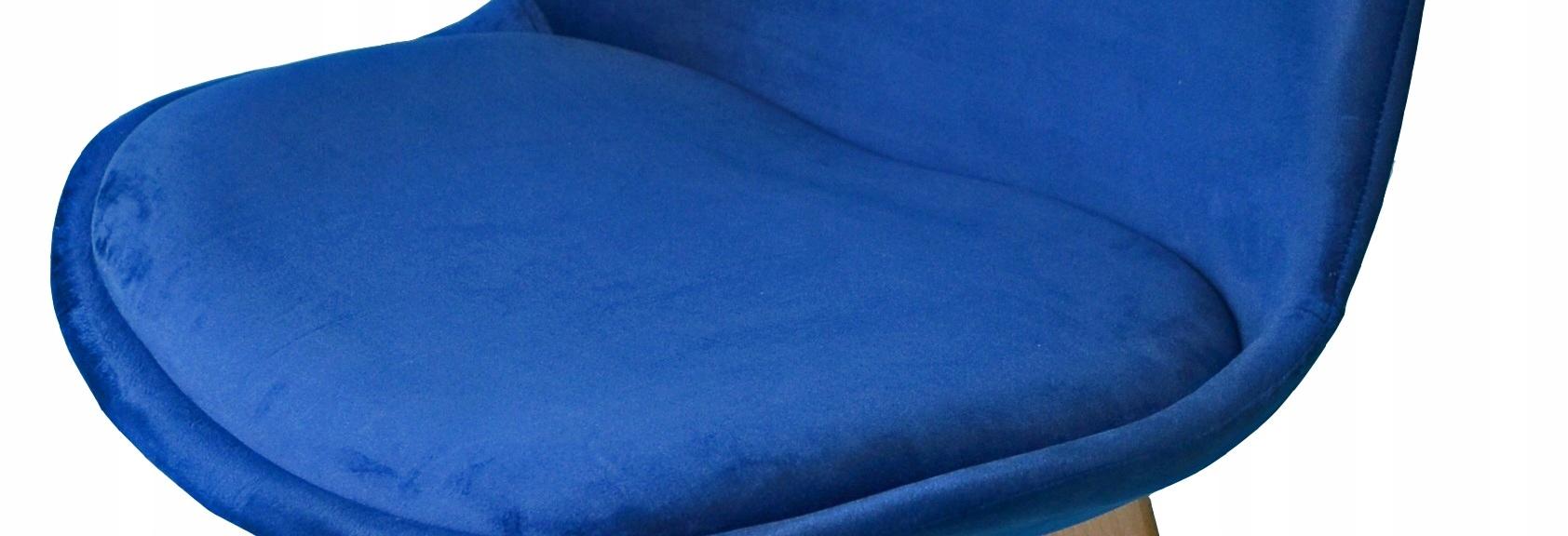 4x skandináv VELVET szék VELVET CUSHION Bútormélység 53,5 cm