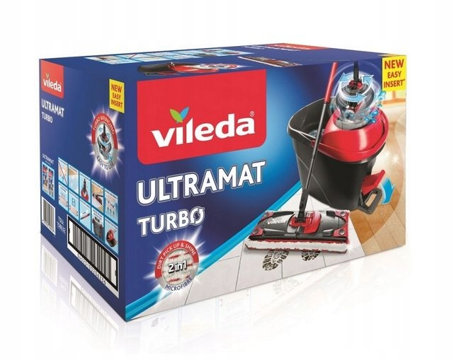 Mop obrotowy Vileda Easy Wring ULTRAMAT Turbo