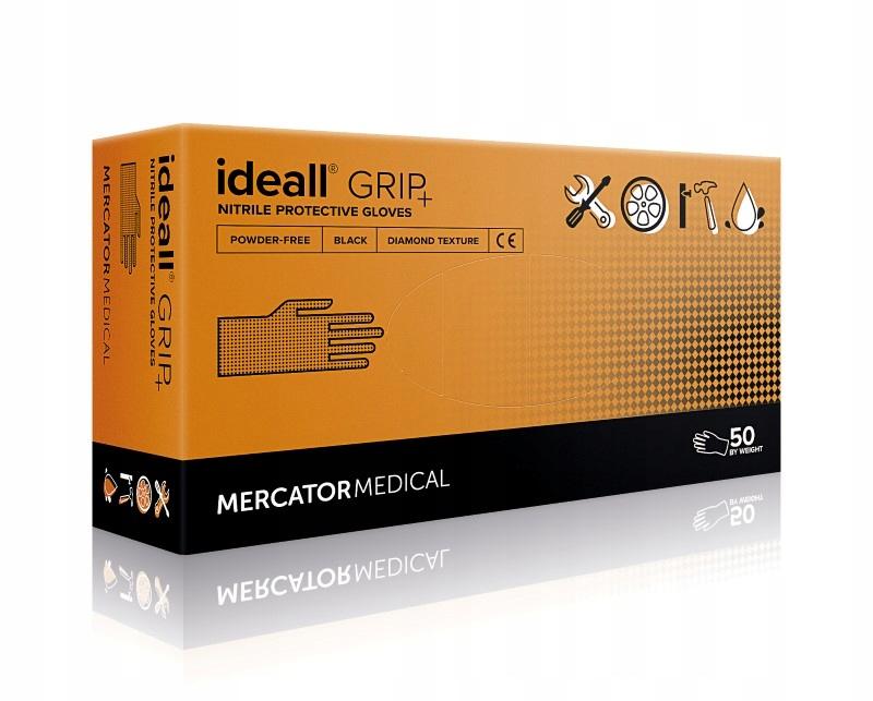 Rękawice gospodarcze ochronne nitrylowe IDEALL XL