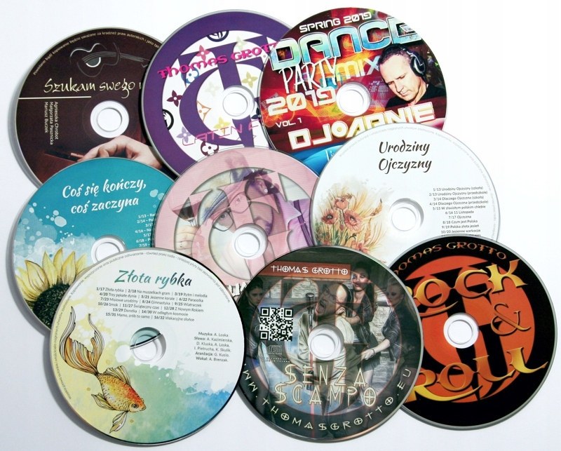 DVD s Verbatim Print DVD Printing + UV 100