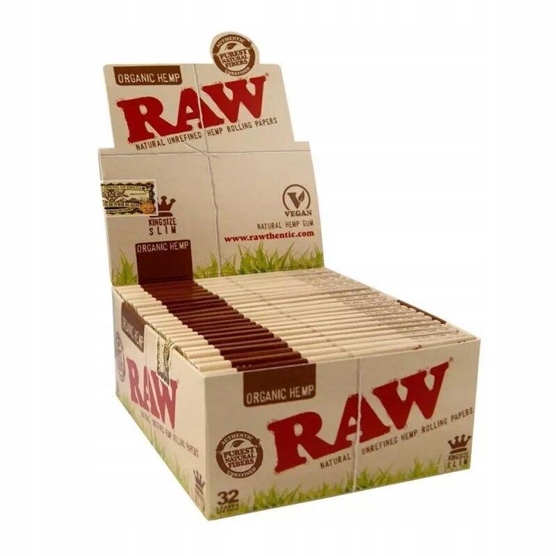RAW Органическая папиросная бумага коллективная упаковка 50 шт.