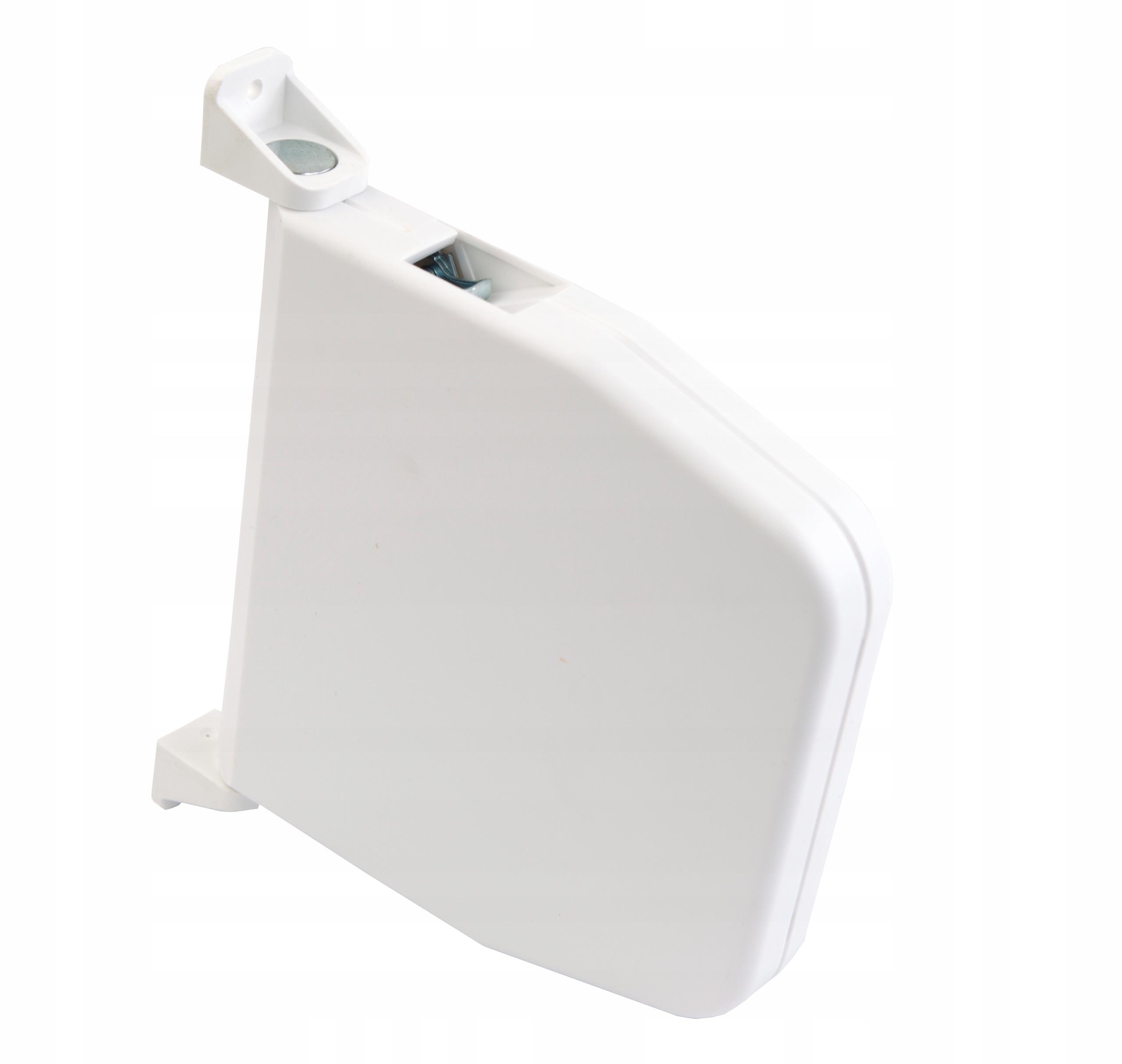 Zwijacz biały na pasek / taśmę do rolet