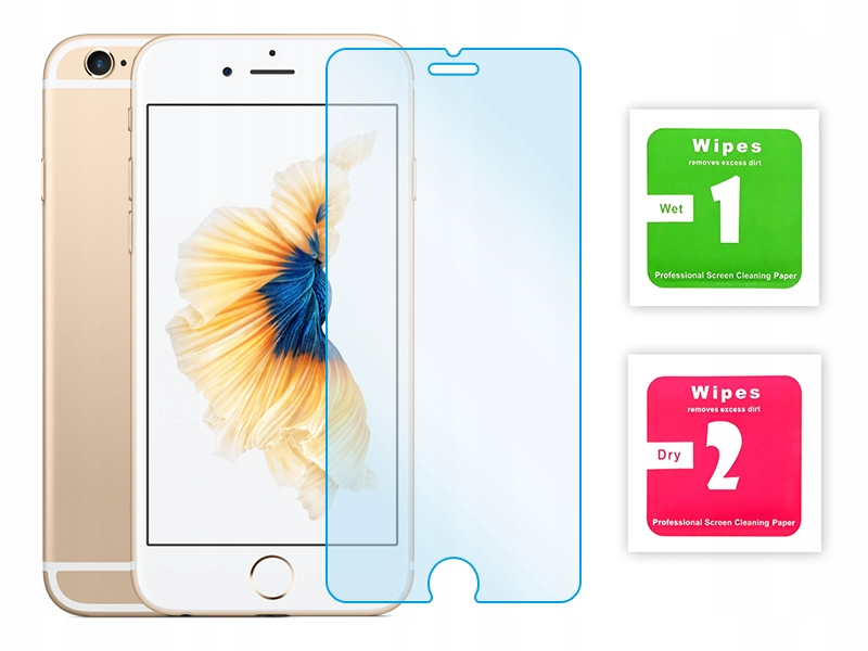 Item QUICK TEMPERED GLASS screen protector for IPHONE 6 6S 7 8