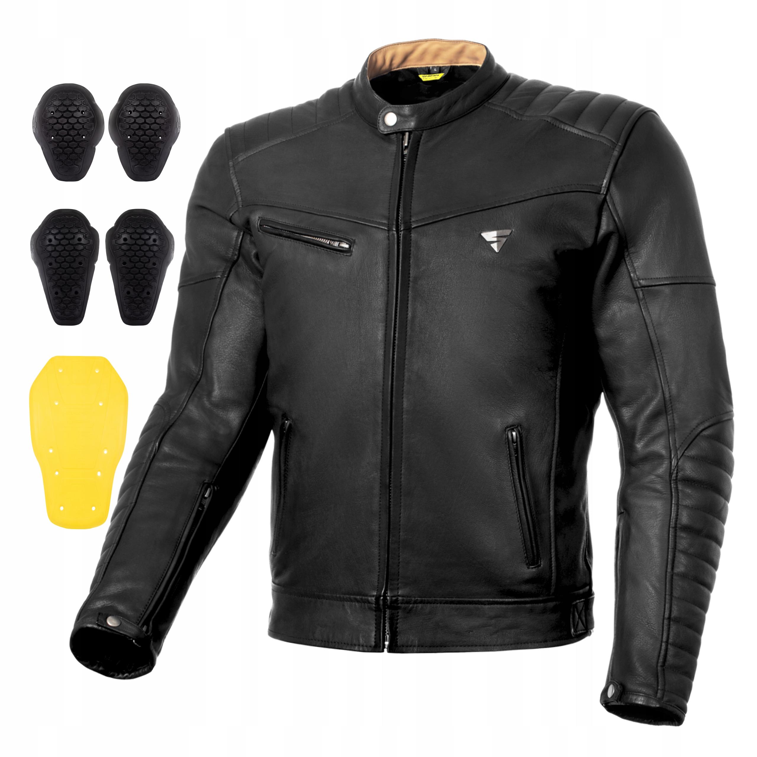 Мотоциклетная куртка SHIMA WINCHESTER BLACK + БЕСПЛАТНО