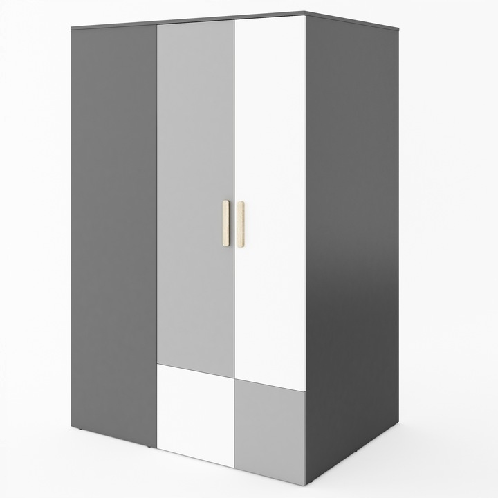 Большой вместительный шкаф-купе ПО-00П 130x193x93 см