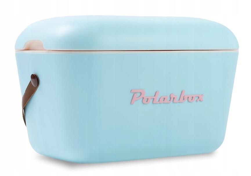 Vintage modrá retro chladnička POLARBOX