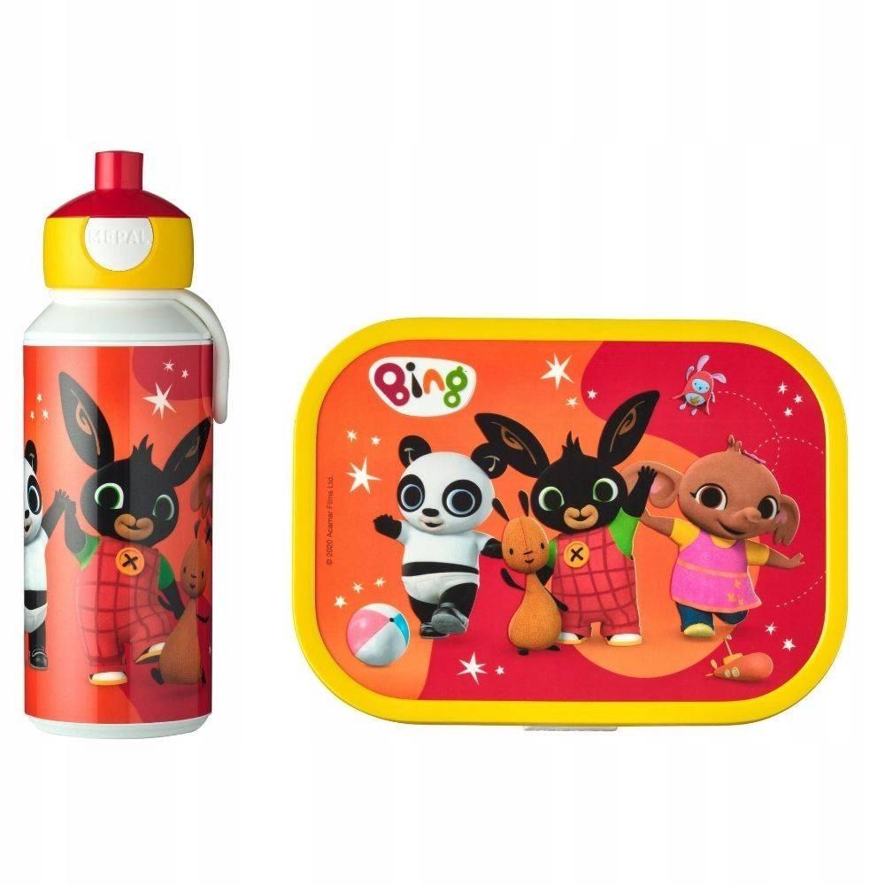 Set box + fľaša pre deti Mepal Bing