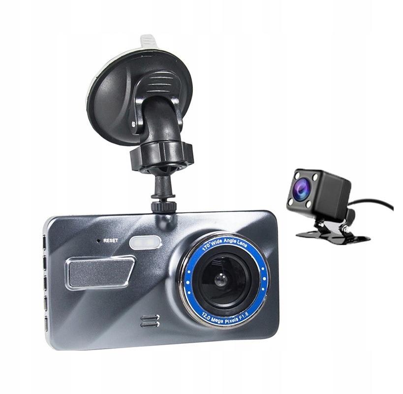 Video Rejestrator Jazdy Kamera samochodowa cofania Kąt widzenia 170°