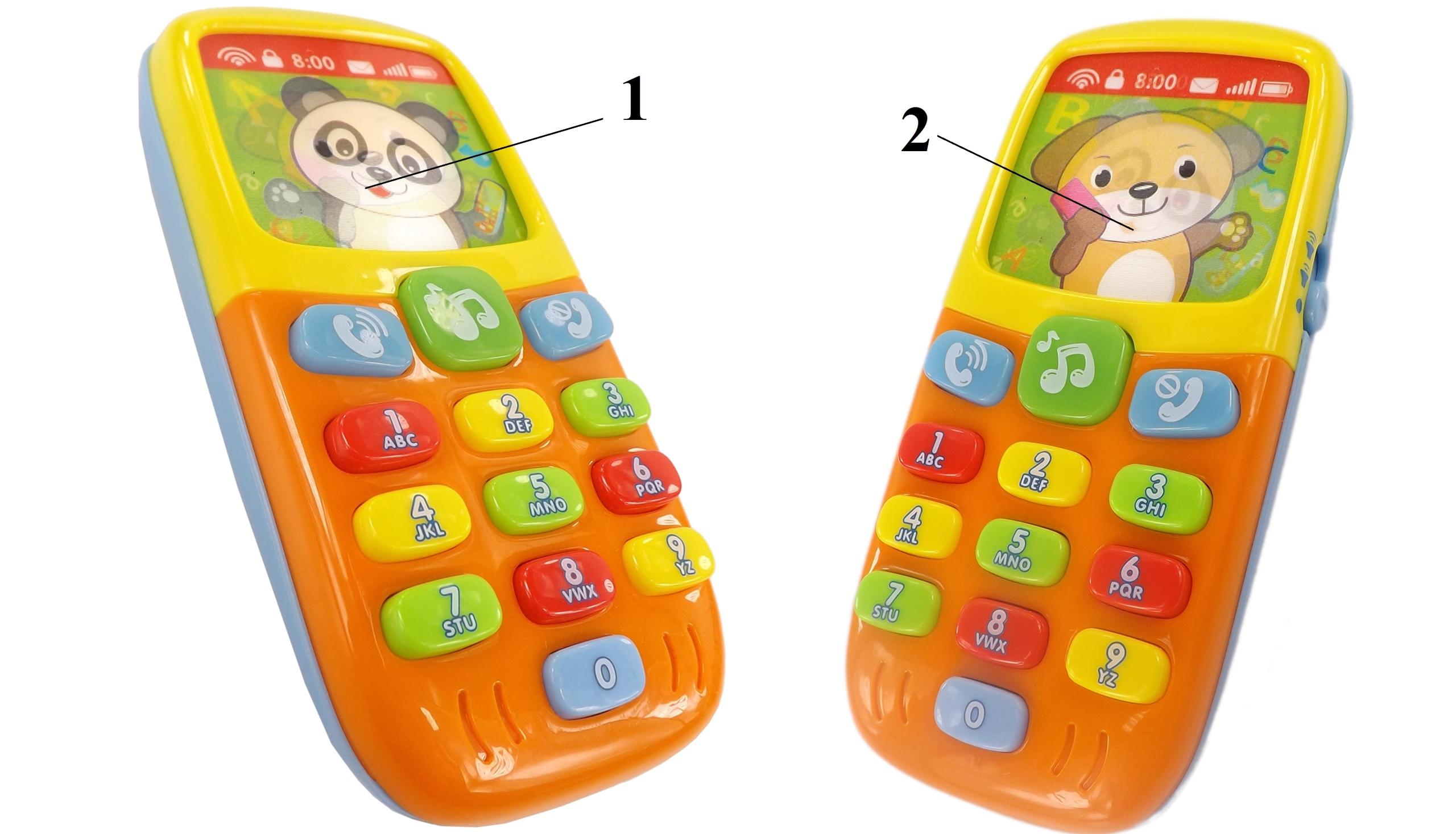 Telefon interaktywny 3D światła i dźwięki 956 EAN 5907508462987
