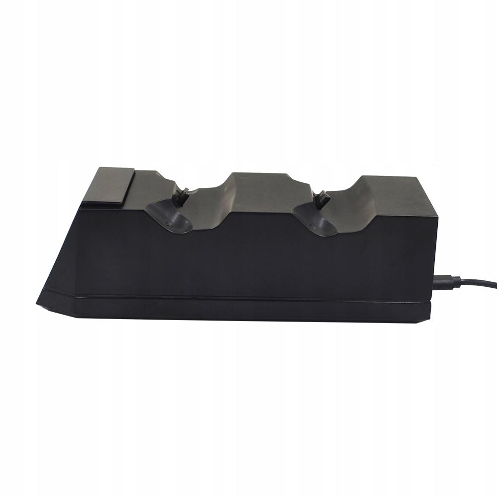 Laderdokkingstasjon 2x PAD PS4 LED-kontroller Kompatible PlayStation 4-plattformer