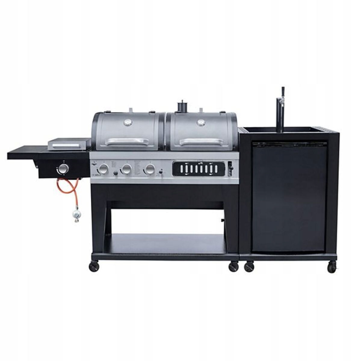 COMBI COAL GAS GRILL 3in1 REFRIGERATOR PILLOWER