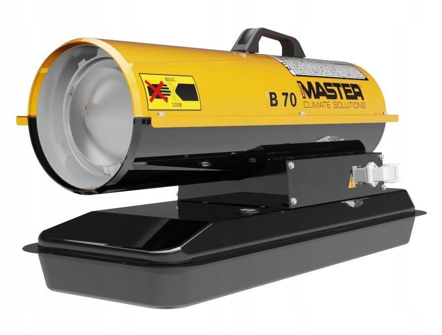 Olejový ohrievač MASTER B 70 CED s výkonom 20 kW