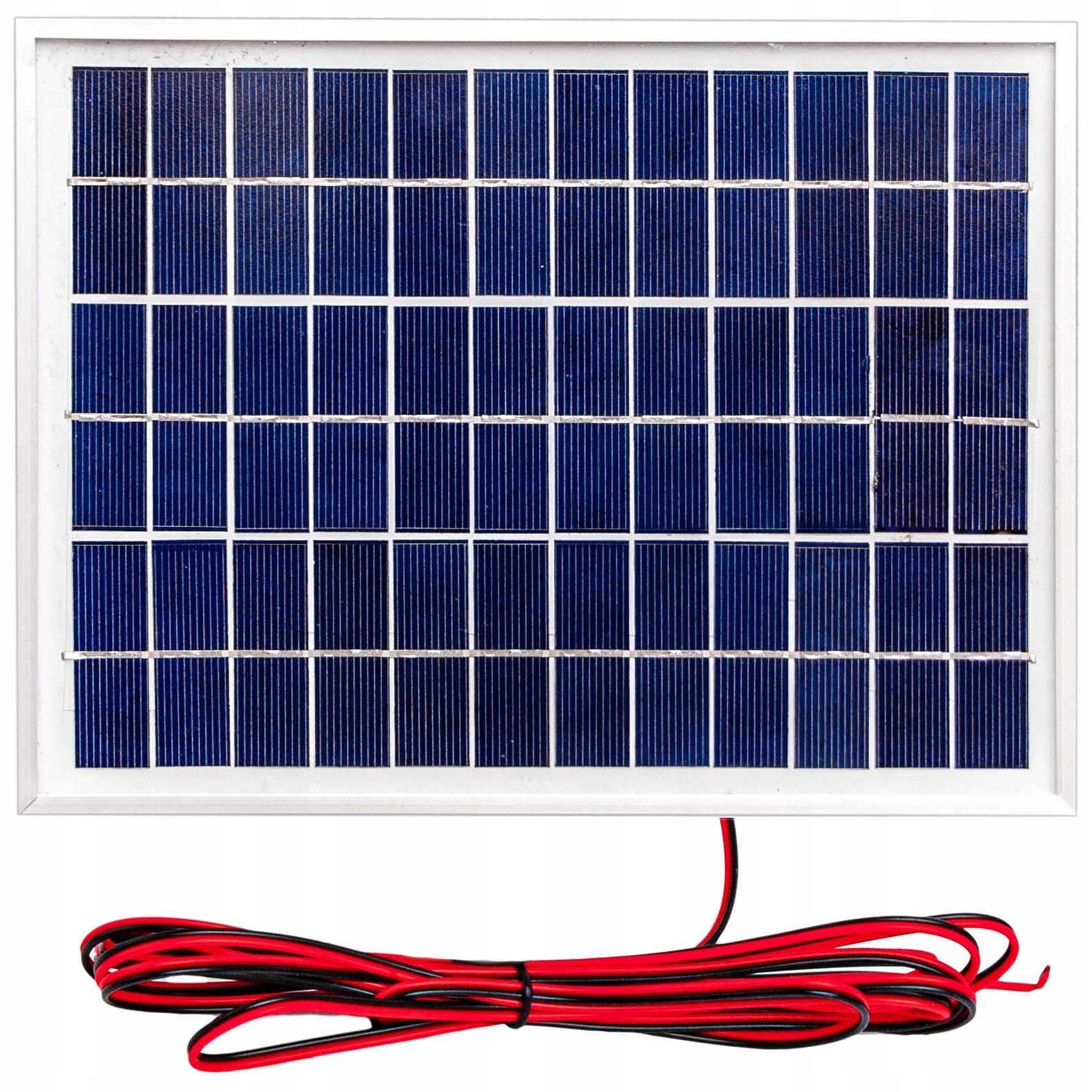 Solar Panel Solárna batéria 5W 12V SOLAR POLIK
