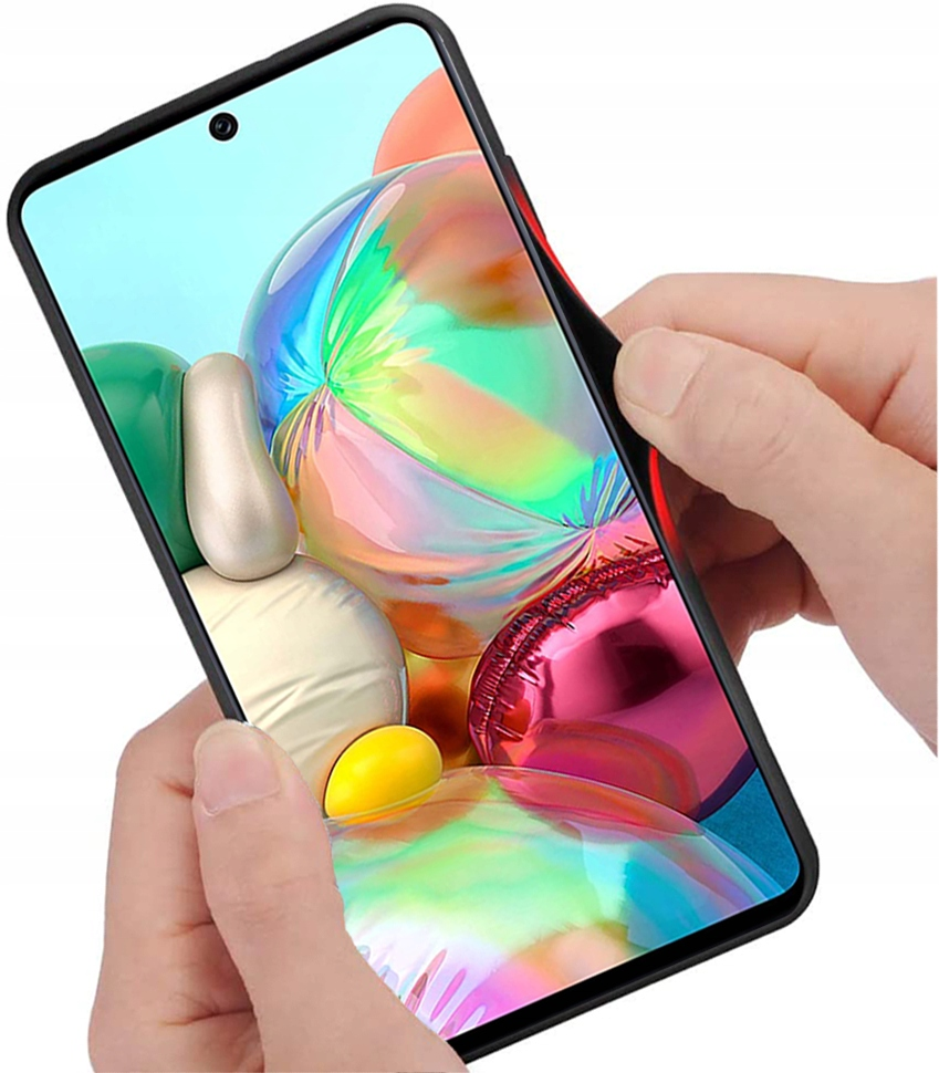 Etui do Samsung Galaxy A51 Case Glass + Szkło 9H Producent INNY