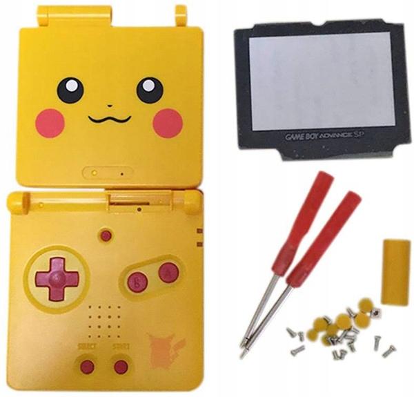 Náhradná škrupinová sada pre Nintendo GBA SP