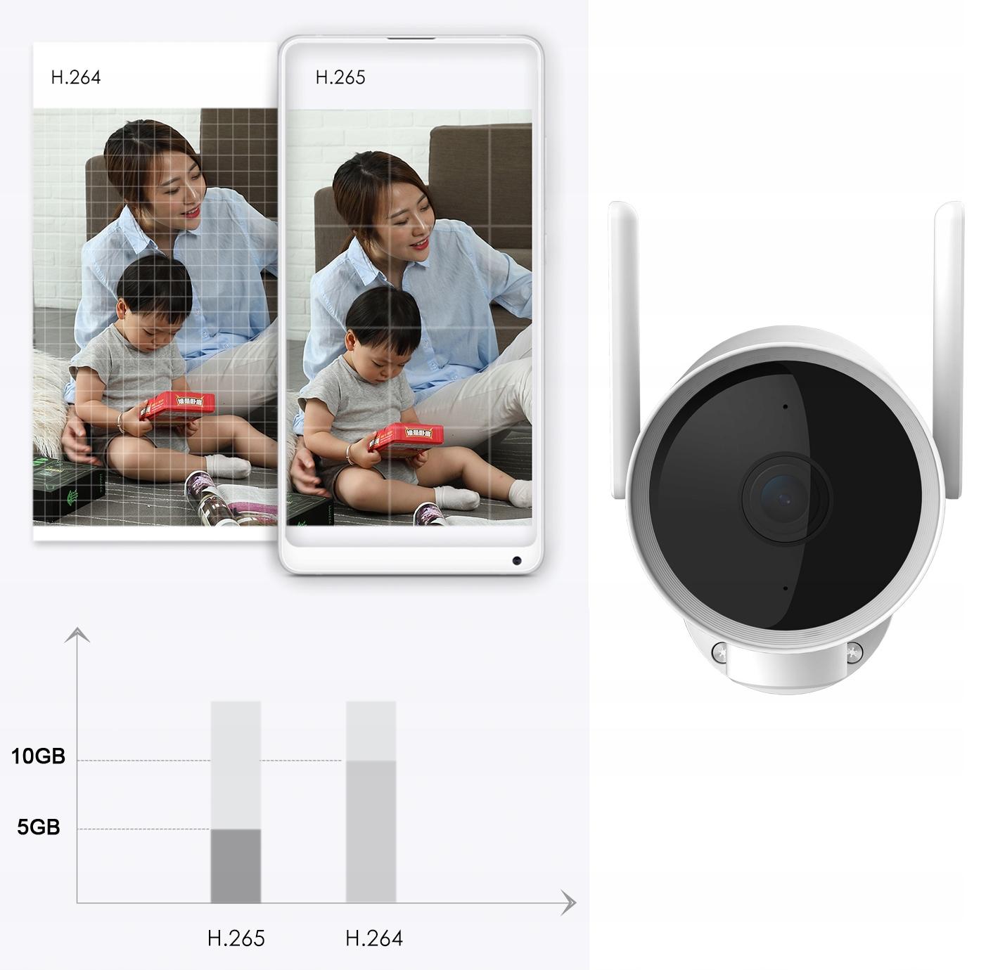 IMILAB EC3 Kamera IP ZEWNĘTRZNA obrotowa 3MPIX 2K Technologia IP