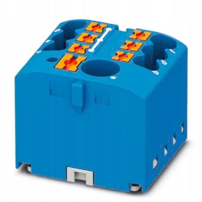Blok rozdzielczy listwa N samozaciskowa 1x6 6x2,5