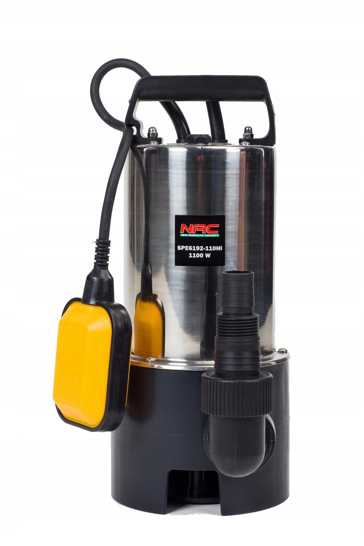 Садовый водяной насос NAC 1100W 18000л / ч INOX