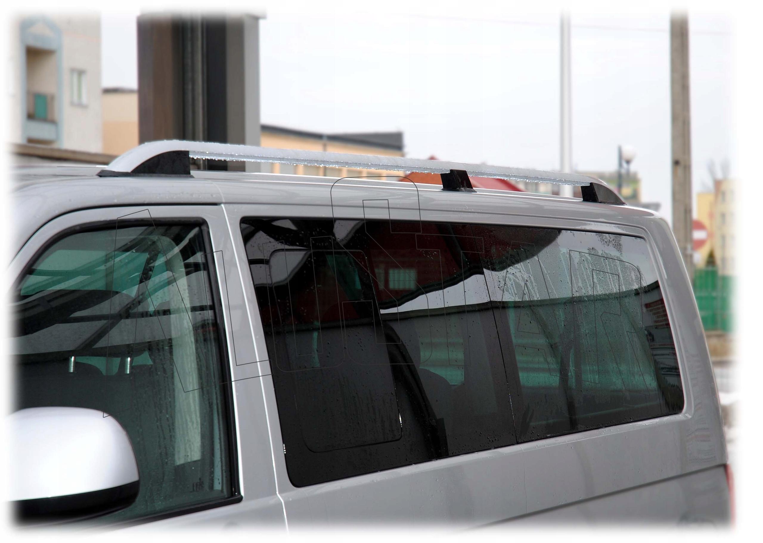 рейлінги samochodowe vw t5 t6 сріблясті kr, фото