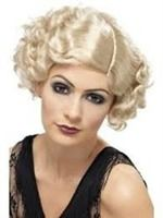 FLAPPER BLOND RETRO WIG 20 CHARLESTON