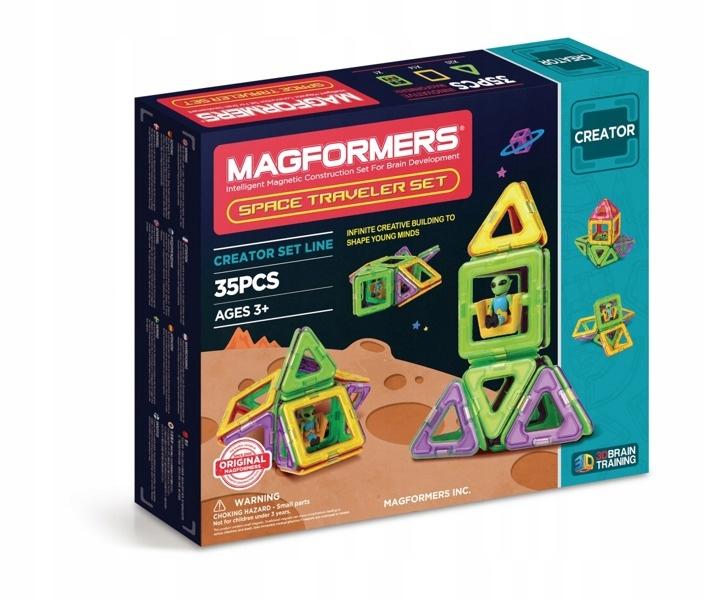 Sada Magformers Space Traveler 35 ELEM.