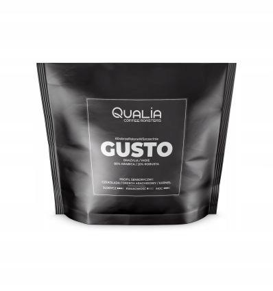 Кофе в зернах Qualia Gusto 250 г