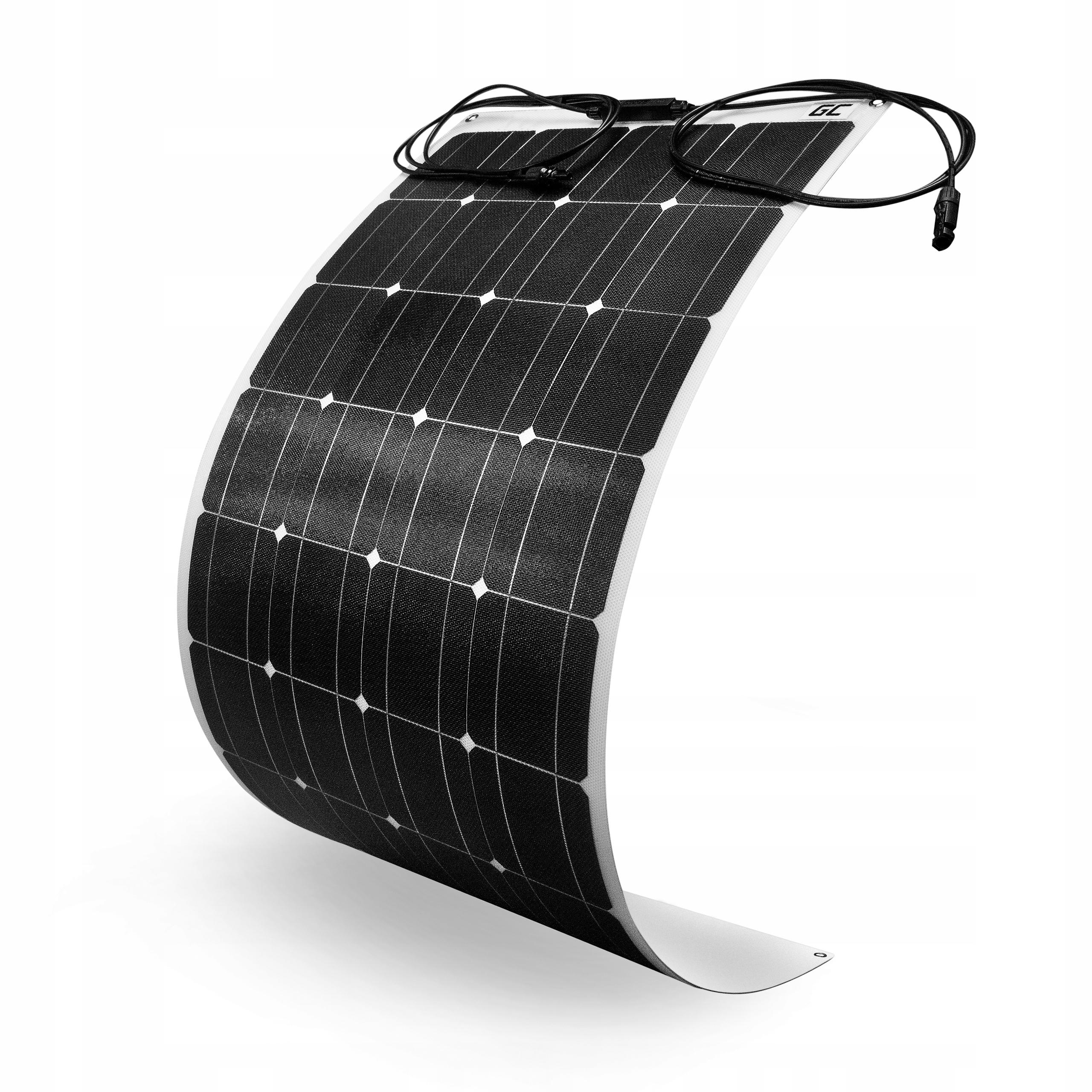 Panel solarny monokrystaliczny ETFE 100W 12V 18V