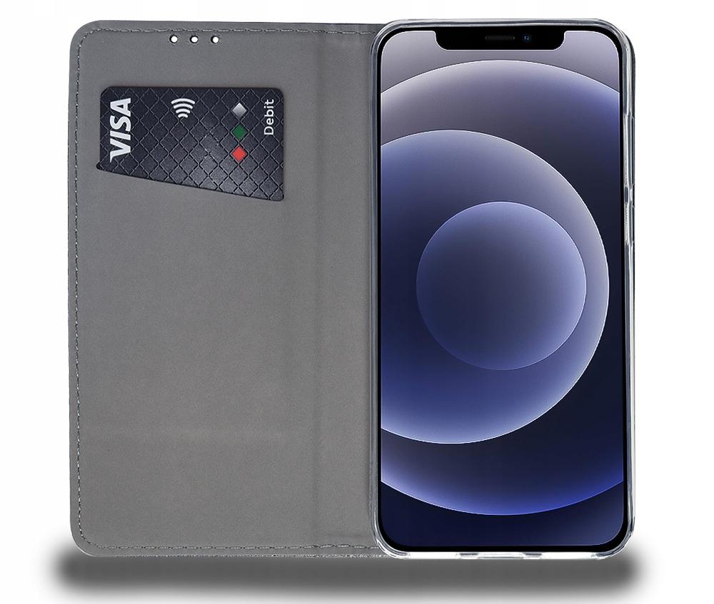 Etui do iPhone 12 Case Magnet Portfel + Szkło 9H Kod producenta C43A
