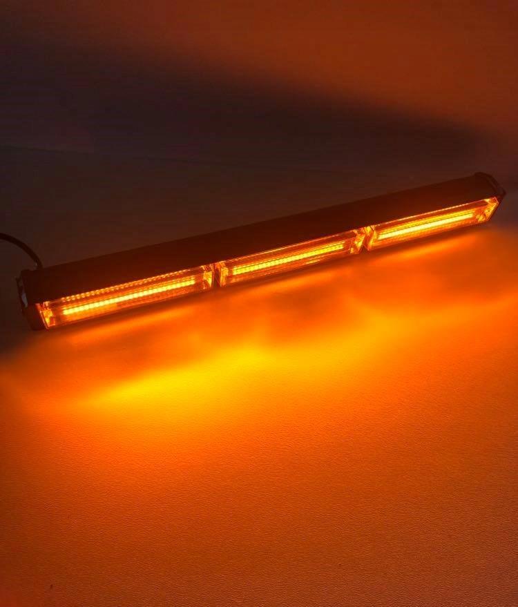 Оранжевая светодиодная сигнальная лампа проблескового маячка