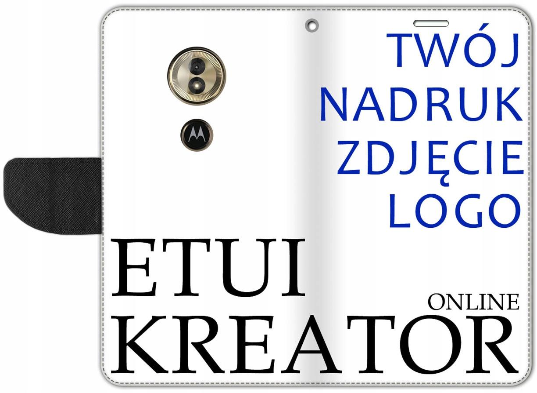 Etui Portfel Kreator Nadruk Motorola Moto G6 Play