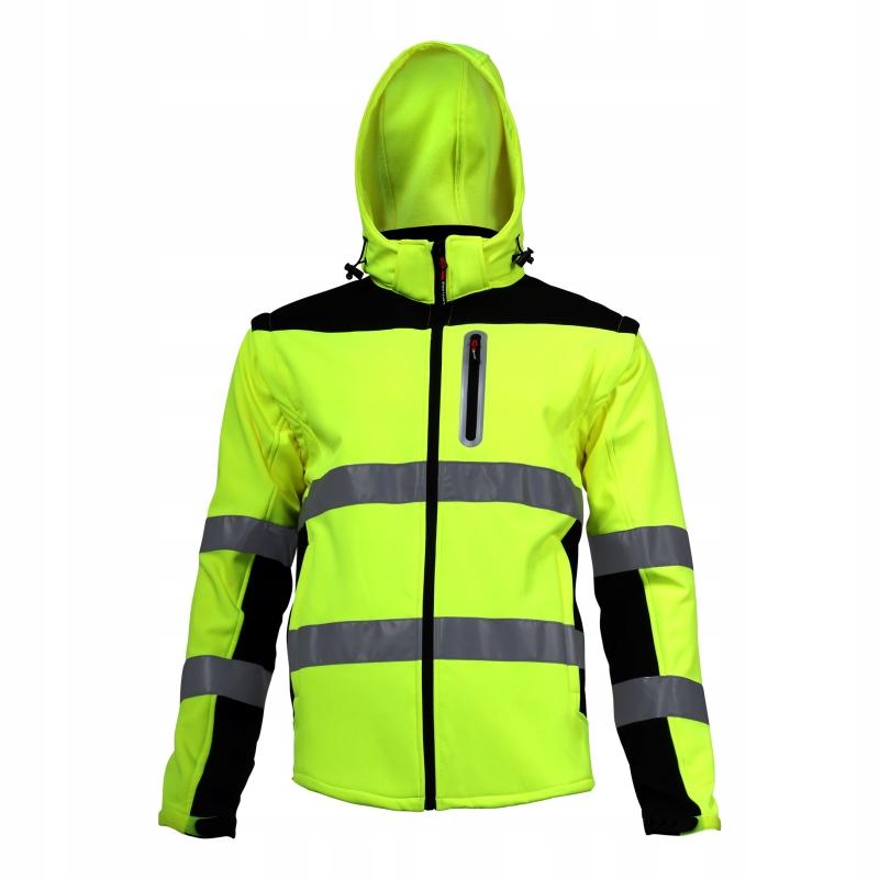Куртка softshell СИГНАЛЬНЫЙ 2 в 1 L40919 L
