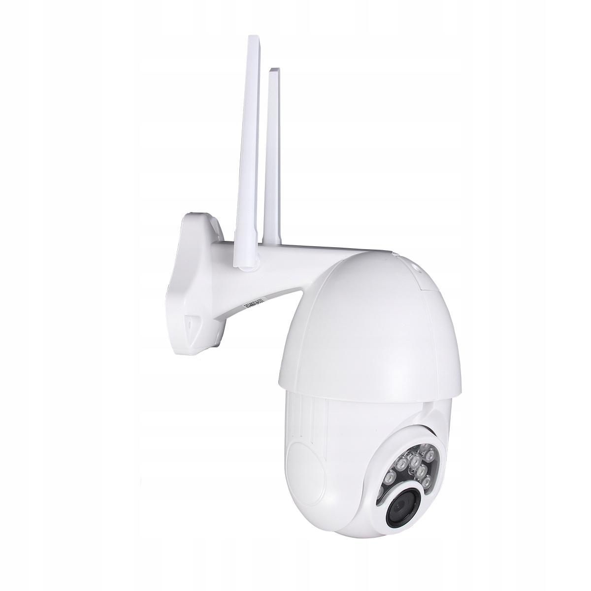 Zewnętrzna wodoodporna IP66 Bezprzewodowa kamera