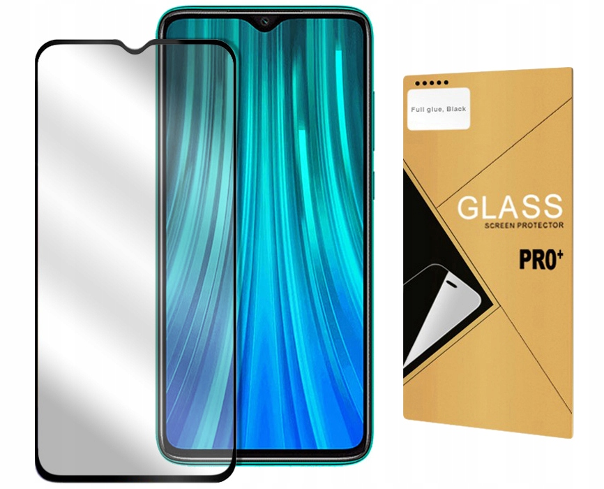 Item 5D 9H TEMPERED GLASS FOR XIAOMI REDMI NOTE 8 PRO