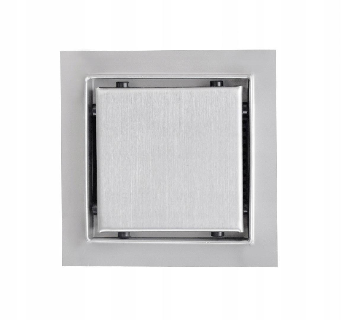 Štvorcový odtok minimalistický 15x15