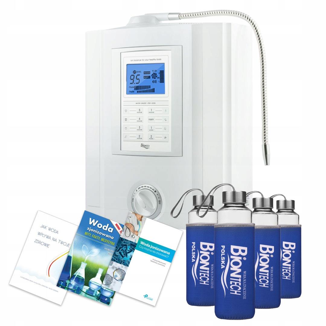Jonizator wody Biontech BTM 505N 7płyt + GRATISY!