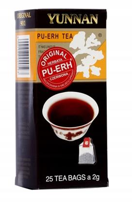 Czerwona ekspresowa Pu-Erh YUNNAN 25 torebek