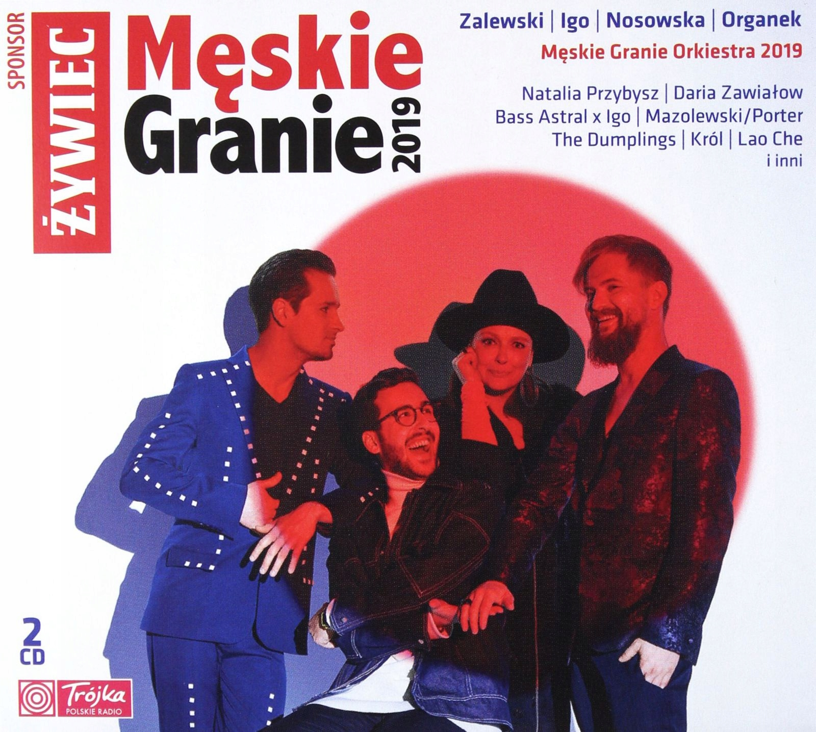 Item THE MEN'S GAME 2019 2CD NOSOWSKA, ZALEWSKI, ORGANEK