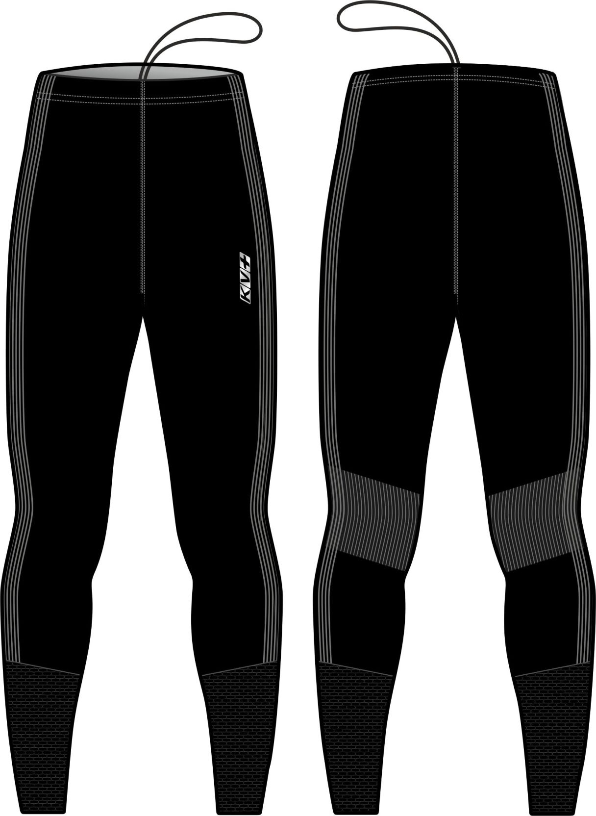Spodnie KV+ SEAMLESS UNISEX rozm. L/XL