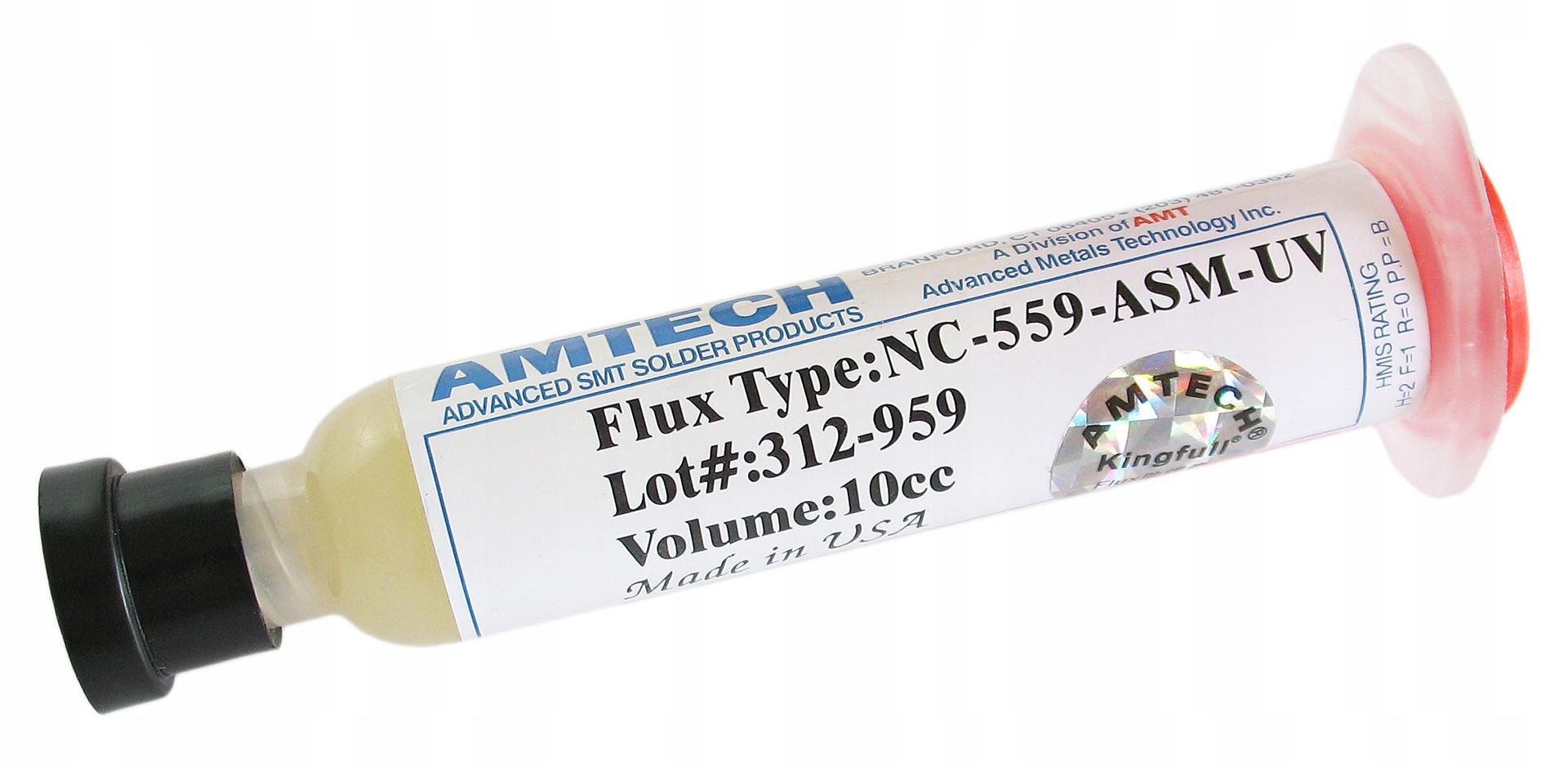 FLUX TOPNIK PASTA SMD BGA AMTECH NC-559-ASM-UV 10g